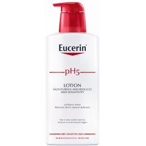 Eucerin pH5 lotion, lett parfymert kroppskrem, 400ml, ApotekForDeg, 897214