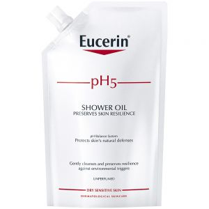 Eucerin pH5 shower oil refill, dusjolje uten parfyme, 400ml, ApotekForDeg, 902694