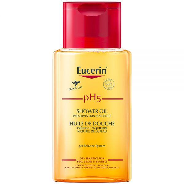 Eucerin pH5 travel shower oil, med parfyme, 100 ml, ApotekForDeg, 978067