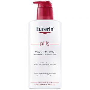 Eucerin pH5 washlotion, lett parfymert dusjkrem, 400ml, ApotekForDeg, 886074