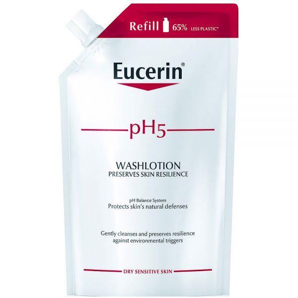 Eucerin pH5 washlotion refill, med parfyme, 400 ml, ApotekForDeg, 953943