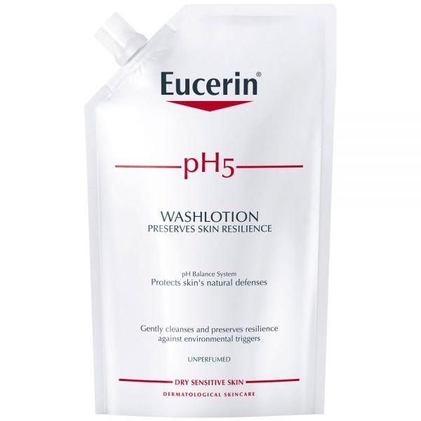 Eucerin pH5 washlotion refill, uten parfyme, 400 ml, ApotekForDeg, 953935