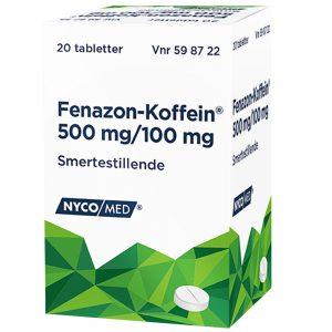 Fenazon-Koffein smertestillende, Apotekfordeg, 598722