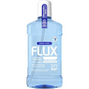 Flux Fresh Mint 0,2% Fluorskyll 500 ml, ApotekForDeg, 815333