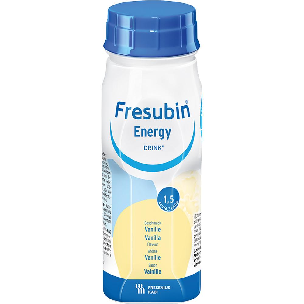 Fresubin Energy Drink næringsdrikk vanilje 4x200 ML, Apotekfordeg, 952980