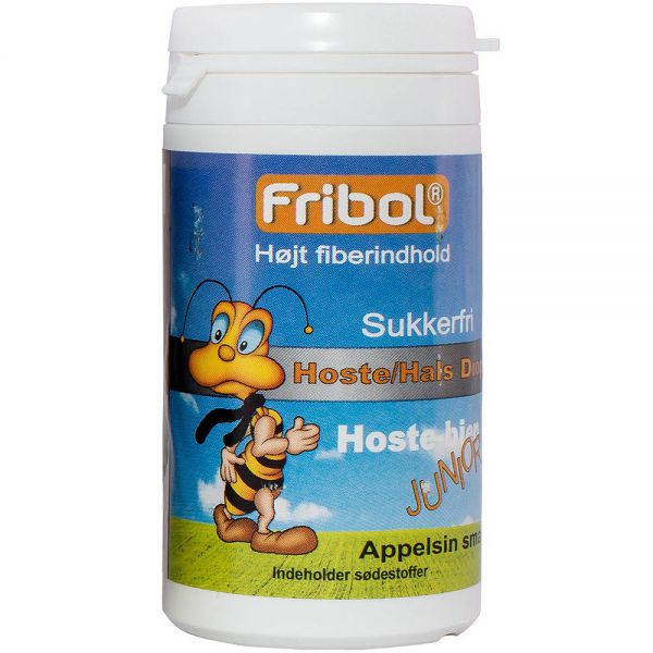 Fribol Sukkerfri Halstabletter Junior 60 g, ApotekForDeg, 902981