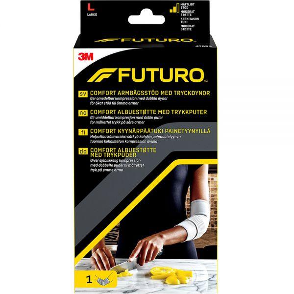Futuro Comfort Albuestøtte Large 1 stk - moderat støtte til albue, Apotekfordeg, 922969