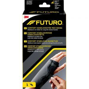 Futuro Comfort Håndleddstøtte Sort One Size 1 stk - moderat støtte for håndledd, Apotekfordeg, 863430