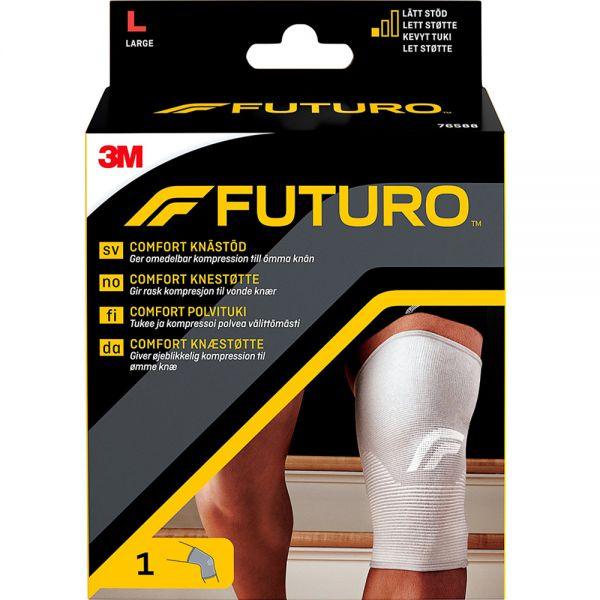 Futuro Comfort Lift Knestøtte Large 1 stk - lett støtte til vonde knær, Apotekfordeg, 810014