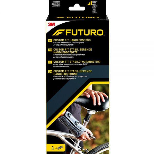Futuro Custom Fit Håndleddstøtte Høyre One Size 1 stk - sterk støtte for håndledd, Apotekfordeg, 828700