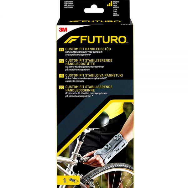 Futuro Custom Fit Håndleddstøtte Venstre One Size 1 stk - sterk støtte for håndledd, Apotekfordeg, 952151
