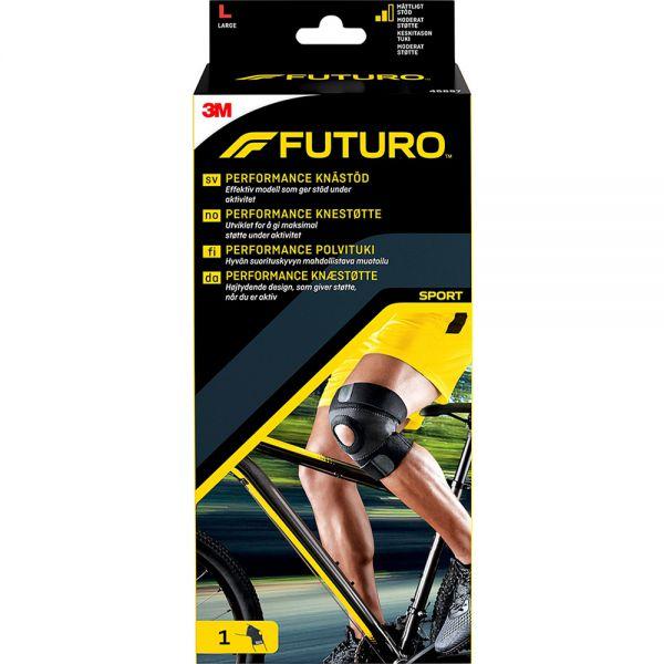 Futuro Sport Performance Kne Large 1 stk - støtte for svakt eller skadet kne, Apotekfordeg, 851625