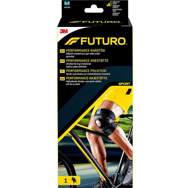 Futuro Sport Performance Kne Medium 1 stk - støtte for svakt eller skadet kne, Apotekfordeg, 903935