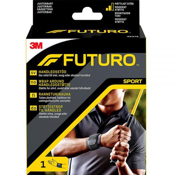 Futuro Sport Wrap Håndleddstøtte One Size 1 stk - støtte for svakt håndledd, Apotekfordeg, 953169