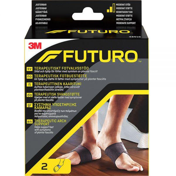 Futuro Terapeutisk Fotbuestøtte One Size 1 par - ved plantar fascitt, Apotekfordeg, 966135