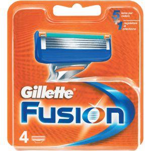 Gillette Fusion Manuell Barberblader 4 stk, ApotekForDeg, 914001