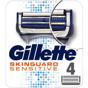 Gillette Skinguard Sensitive Blader Refill 4 stk, ApotekForDeg, 818689