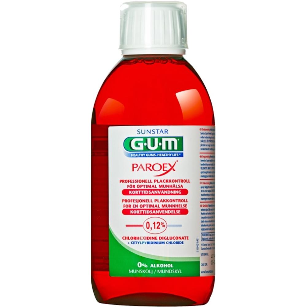 Gum Paroex Munnskyll 0,12% Klorheksidin 300 ml, ApotekForDeg, 936418
