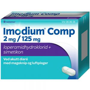 Imodium Comp Tabletter 8 stk, ApotekForDeg, 68606