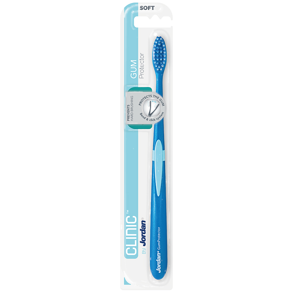 Jordan clinic tannbørste gum protector soft for sensitive gommer og tannkjøtt, 1 stk, ApotekForDeg, 936907