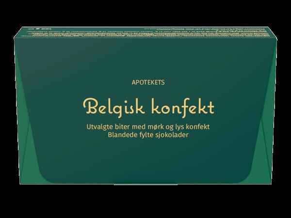 Julegodt apotekets belgiske konfekt, apotekfordeg 956559