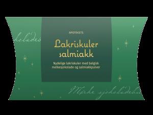 Julegodt apotekets lakriskuler salmiakk, Apotekfordeg, 837551