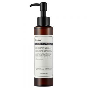 Klairs Gentle Black Deep Cleansing oil 150 ml, mild renseolje til ansikt, apotekfordeg, 958550