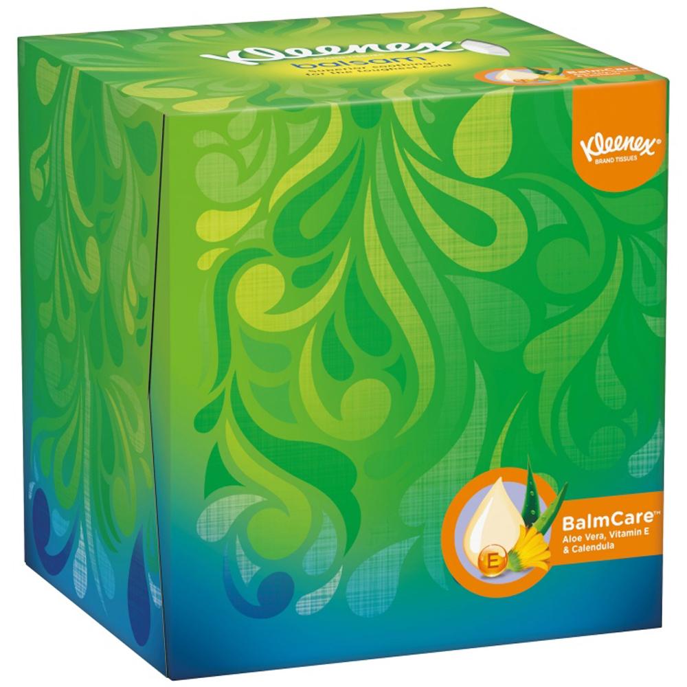 Kleenex balsam kube med ekstra myke lommetørkler for nesen, ApotekForDeg, 905944