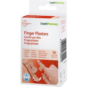 LLP Fingerplaster 10 stk - til finger og fingertupp, Apotekfordeg, 909300