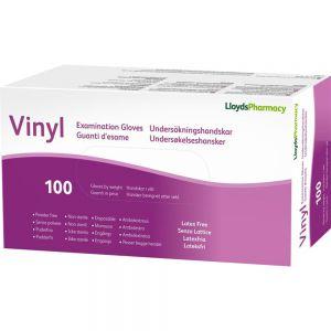 LLP Hansker Vinyl Pudderfri str S 100 stk, Apotekfordeg, 924498