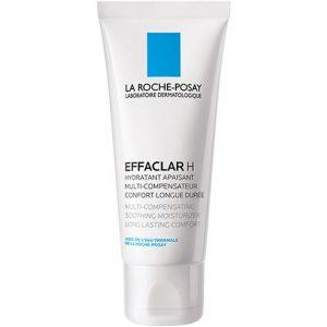 La Roche-Posay Effaclar H Ansiktskrem 40 ml - for tørr hud etter medisinsk behandling, Apotekfordeg, 952955