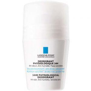 La Roche-Posay Fysiologisk Deodorant 24h 50 ml - med 24 timers effekt, Apotekfordeg, 937293
