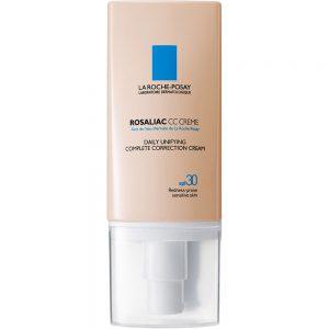 La Roche-Posay Rosaliac CC Cream 50 ml - farget ansiktskrem ved rødhet, Apotekfordeg, 860181