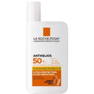 La roche-posay anthelios ultralett SPF 50+, høy solbeskyttelse med lett konsistens til ansikt, 50ml, apotekfordeg, 917730