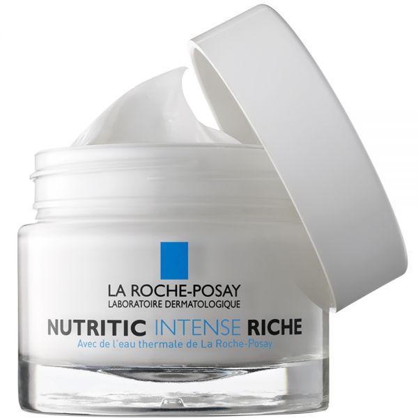 La roche-posay nutritic intense rich cream, ansiktskrem for ekstra tørr hud, 50 ml, apotekfordeg, 857859