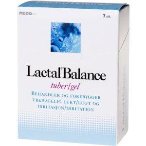 Lactal Balance Gel 7×5 ml mot lukt og irritasjon i underlivet, Apotekfordeg, 902226