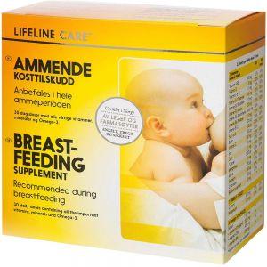 Lifeline Care Ammende Kosttilskudd 4×30 stk, ApotekForDeg, 899221