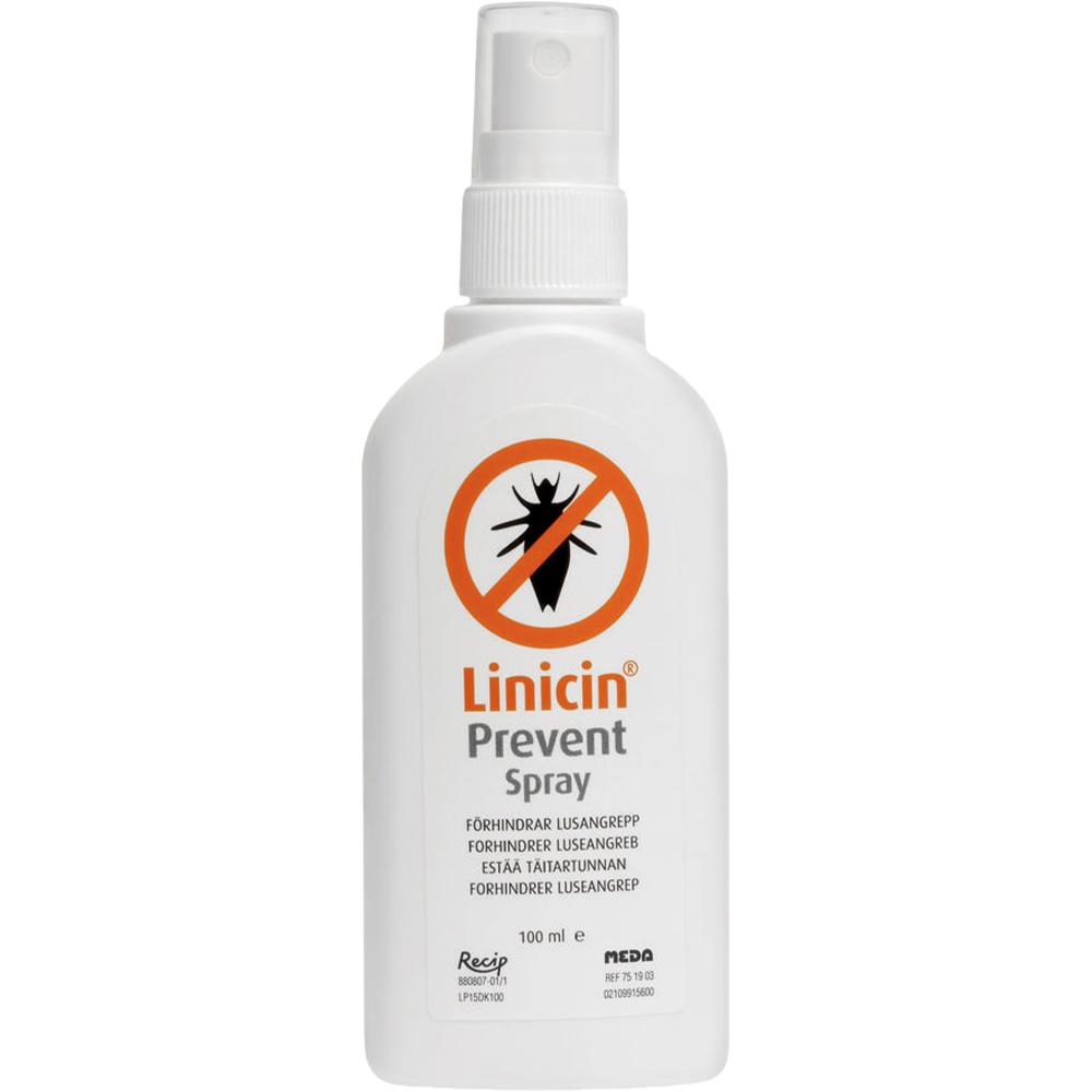 Linicin prevent spray, forebyggende spray mot lus, 100 ml, Apotekfordeg, 903689
