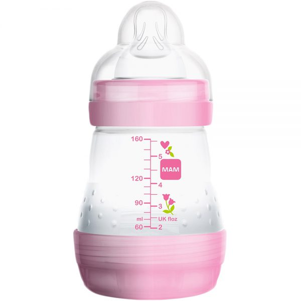 MAM easy start anti-kolikk tåteflaske med selvsteriliserende funksjon, Apotekfordeg, 984689 - 1