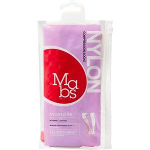 Mabs nylon kne kompresjonsstrømpe sand – str L, 1 par, ApotekForDeg, 996394