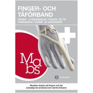Mabs tå- og fingerbandasje, 1 stk, ApotekForDeg, 855591