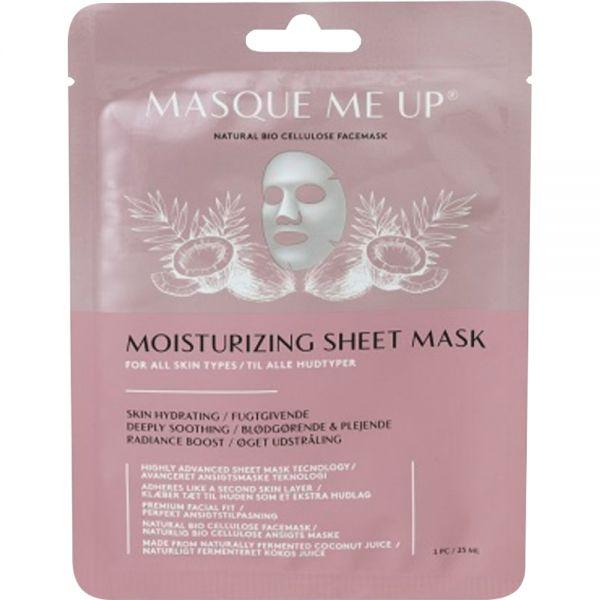 Masque Me Up Moisturizing Sheet Mask 1 stk - svært fuktighetsgivende, Apotekfordeg, 916328