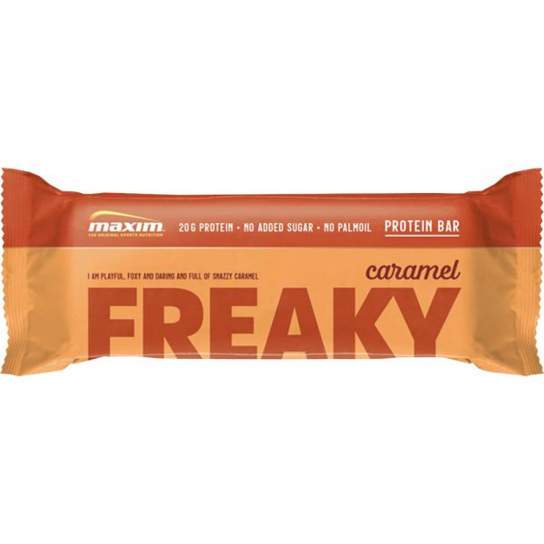 Maxim Freaky Bar Choco Caramel 55 g, Apotekfordeg, 984826