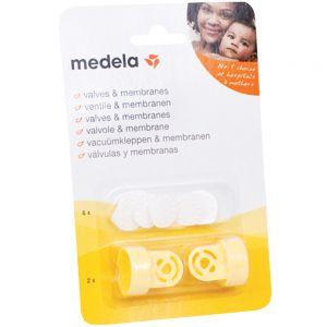 Medela 2 Ventiler + 6 Membraner 1 sett, ApotekForDeg, 903682