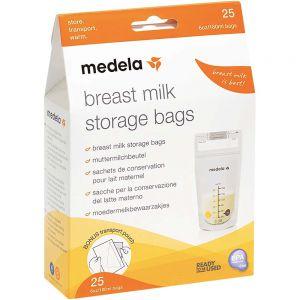Medela Oppbevaringpose For Brystmelk 180 ml 25 stk, ApotekForDeg, 962094