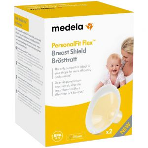 Medela PersonalFit Flex Brysttrakt 24mm 2 stk, ApotekForDeg, 814389