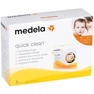 Medela Quick Clean Rengjøringsposer 5 stk, ApotekForDeg, 943123