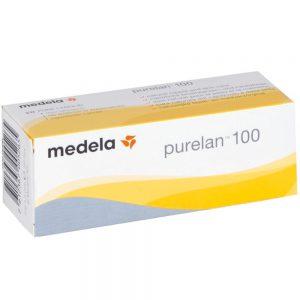 Medela purelan brystvortekrem for såre brystvorter eller for pleie av tørr og sprukken hud 37g, Apotekfordeg, 879270