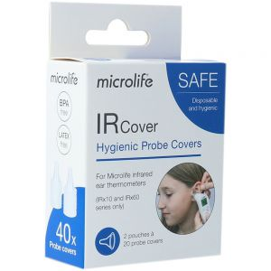 Microlife Cover Ear Thermometer IR 40 stk, ApotekForDeg, 840112