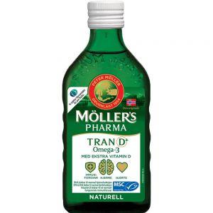 Møllers Pharma Tran D+ Naturell 250 ml, ApotekForDeg, 829849